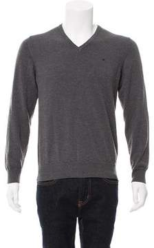 J. Lindeberg Embroidered Wool Sweater