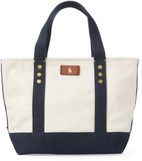 Polo Ralph Lauren Canvas Mini Tote Bag