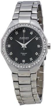 August Steiner Open Box - Dazzling Diamond Three Watch Set 8063BK