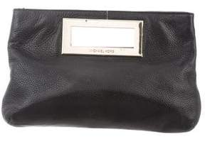 MICHAEL Michael Kors Textured Leather Clutch