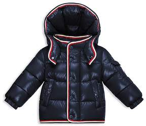 Moncler Boys' Stripe Trimmed Down Puffer Jacket - Baby