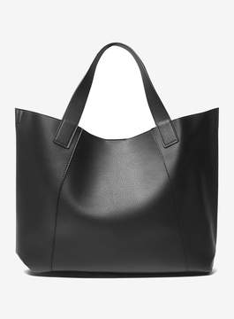Dorothy Perkins Black and Grey Shopper Bag