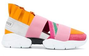 Emilio Pucci Women's 81ce5581x06a03 Multicolor Leather Slip On Sneakers.