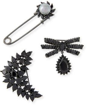 Fallon Monarch Crystal Pin Set
