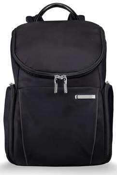 Briggs & Riley Men's Sympatico Nylon Backpack - Black