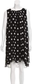 Andrew Gn Polka Dot Silk Dress