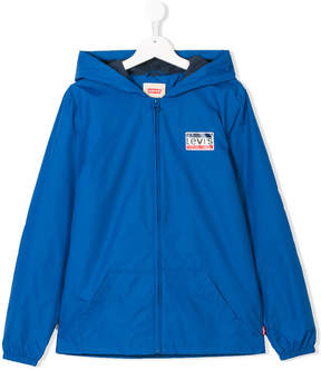 Levi's Kids TEEN hooded zipped jacket