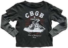 Rowdy Sprout Boy's CBGB Double Layer Tee