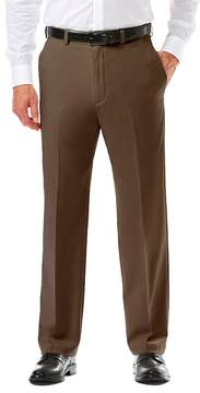 Haggar Men's Cool 18® PRO Classic-Fit Wrinkle-Free Flat-Front Expandable Waist Pants
