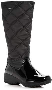 Khombu Women's Addison Waterproof Cold-Weather Wedge Boots