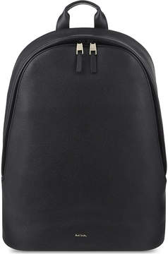 Paul Smith Accessories City webbing leather backpack