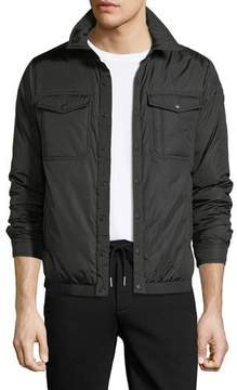 Moncler Erault Snap-Front Utility Jacket