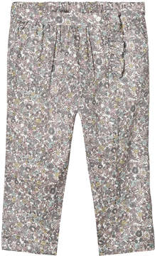 Mini A Ture Noa Noa Miniature Multicoloured Floral Print Trousers