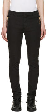 Balmain Black Slim Trousers