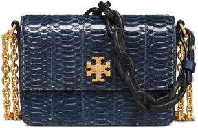 Tory Burch Kira Snake Double-Strap Mini Bag - ROYAL NAVY - STYLE