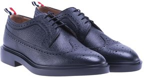 Thom Browne Pebbled Leather Brogues From