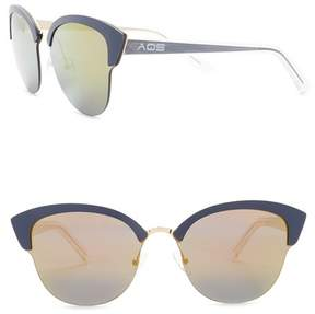 Cat Eye AQS Serena 70mm Sunglasses