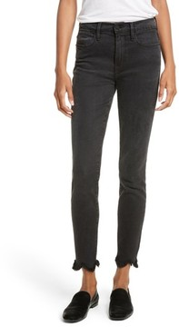 Frame Women's Le High Frayed Ankle Skinny Jeans