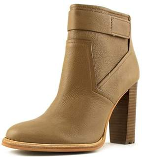 Calvin Klein Jeans Lacina Round Toe Leather Ankle Boot.