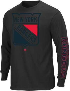 Majestic Big & Tall New York Rangers Pop Hit Tee