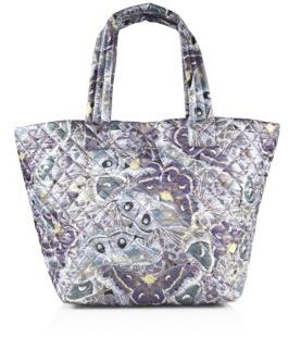 MZ Wallace Metro Luna Quilted Nylon Tote