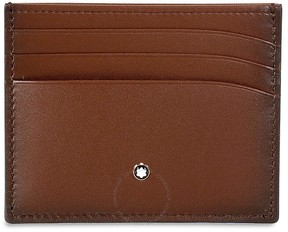 Montblanc Meisterstuck Sfumato Brown Leather Credit Card Holder