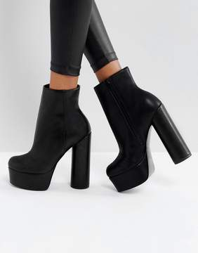 Asos ELECTRIFYING Platform Ankle Boots