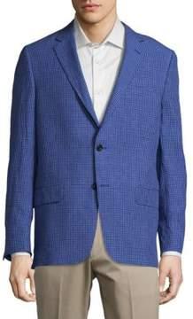 Hickey Freeman Milburn Notch Lapel Linen Sportcoat