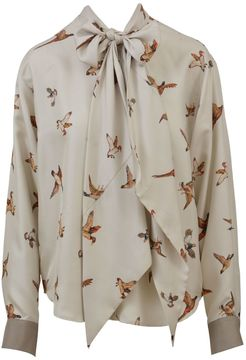 Mulberry Silk Printed Shirt