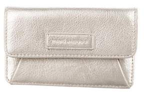 Marc by Marc Jacobs Metallic Leather Card Holder