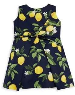 Helena and Harry Toddler's, Little Girl's& Girl's Luscious Lemon Dress