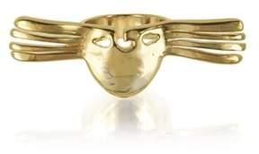 Aurelie Bidermann Women's Gold Metal Ring.