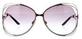 Roberto Cavalli Gradient Oversize Sunglasses
