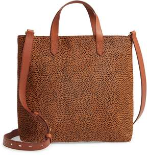 Madewell The Zip Top Transport Genuine Calf Hair Crossbody Bag
