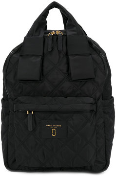 Marc Jacobs quilted backpack - BLACK - STYLE