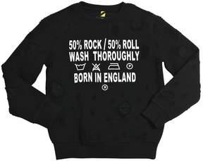 John Richmond Destroyed Cotton Sweatshirt