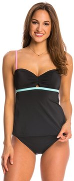 Coco Rave Swimwear Keep It Cute Peeka-Boo Underwire Tankini Top - 8144644