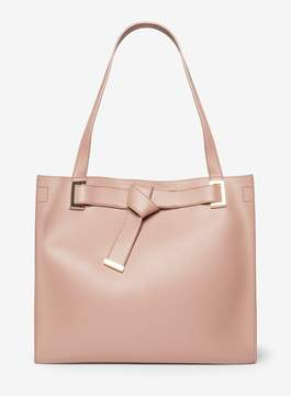 Dorothy Perkins Rose Knot Boxy Shopper Bag