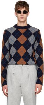Acne Studios Navy Newton Sweater