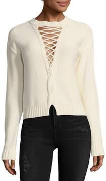Bec & Bridge Women's Jessie James Lace-Up Sweater