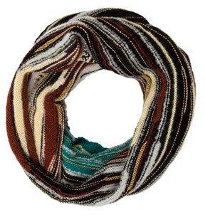 M Missoni Striped Wool Snood