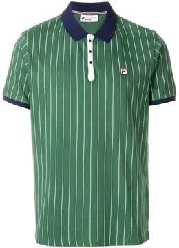 Fila striped logo polo shirt