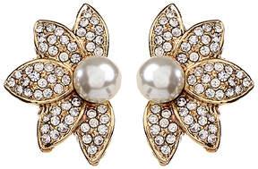 Amrita Singh Crystal & Goldtone Pippa Stud Earrings