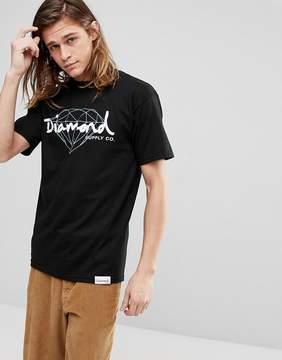 Diamond Supply Co. T-Shirt With Script Logo