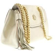 Roberto Cavalli Fwb946 Pc268 2806 Soft Gold Foil Crossbody Bag