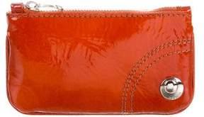 Hogan Patent Leather Key Pouch