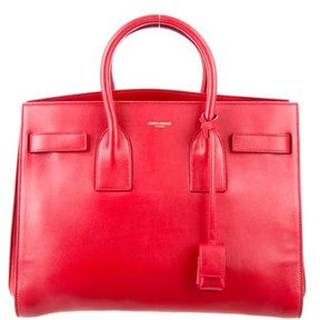 Saint Laurent Small Sac de Jour - RED - STYLE