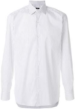 Barba pinstripe shirt