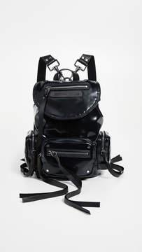 McQ Alexander McQueen Mini Convertible Drawstring Backpack