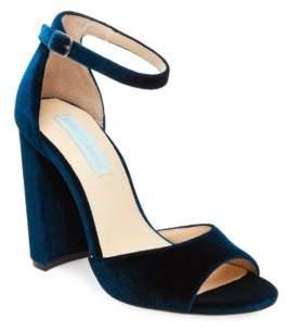 Betsey Johnson Carly Velvet Sandals